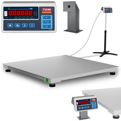 Waga platformowa przemysłowa interfejs RS232 600 kg / 200 g LED M LEGALIZACJA