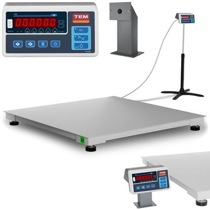 Waga platformowa przemysłowa interfejs RS232 1500 kg / 500 g LED M LEGALIZACJA