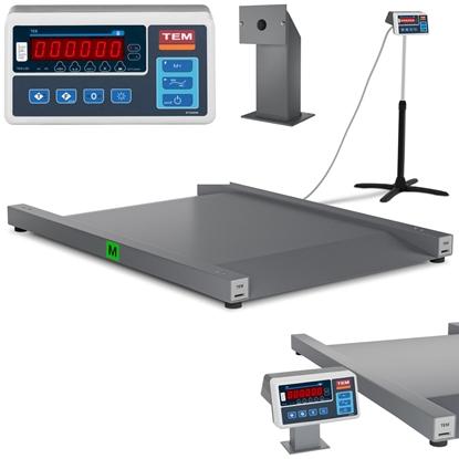 Waga najazdowa interfejs RS232  600 kg / 100g LED M LEGALIZACJA