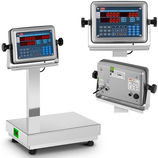 Waga platformowa przemysłowa interfejs RS232 PLU 30 kg / 0,01 kg LED M LEGALIZACJA