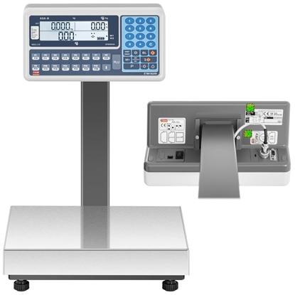 Waga handlowa magazynowa interfejs RS232 120 kg / 0,05 kg LCD M LEGALIZACJA