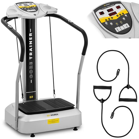 Platforma wibracyjna domowa do ćwiczeń fitness 10 programów do 150 kg