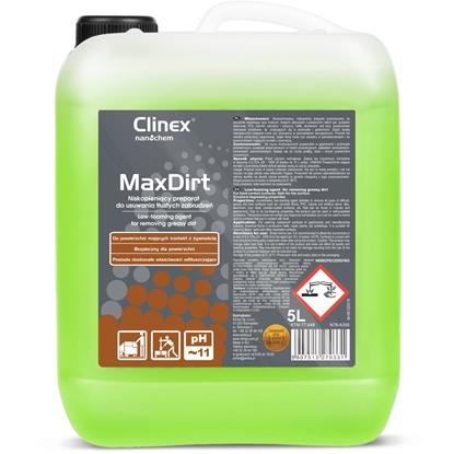 Skoncentrowany preparat do usuwania trudnych zabrudzeń CLINEX MaxDirt 5L