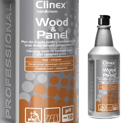 Płyn do mycia podłóg drewnianych paneli CLINEX Wood-Panel 1L