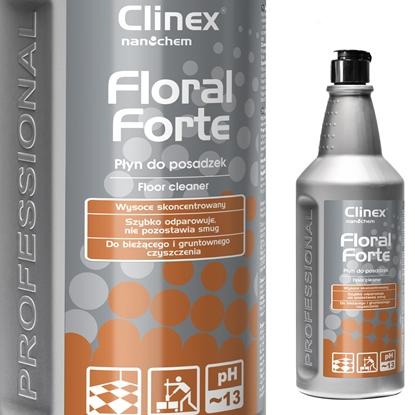 Koncentrat płyn do mycia i pielęgnacji posadzek podłóg CLINEX Floral Forte 1L