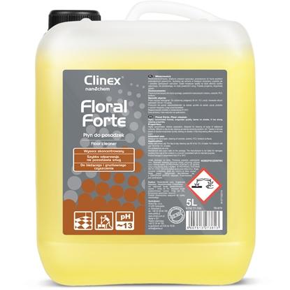 Koncentrat płyn do mycia i pielęgnacji posadzek podłóg CLINEX Floral Forte 5L