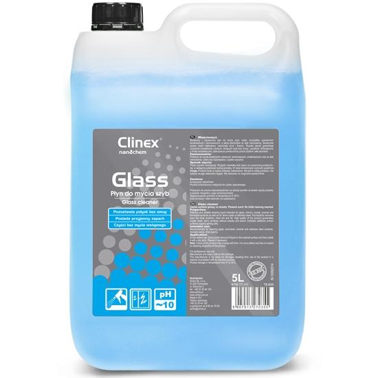Profesjonalny płyn do mycia szyb luster szkła bez smug i zacieków CLINEX Glass 5L