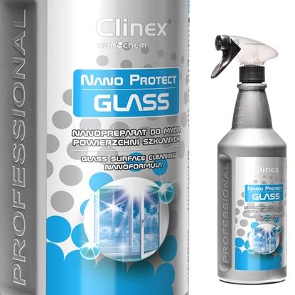 Nanopreparat do mycia szyb szkła luster bez smug krystaliczny blask CLINEX Nano Protect Glass 1L