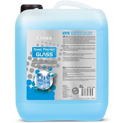 Nanopreparat do mycia szyb szkła luster bez smug krystaliczny blask CLINEX Nano Protect Glass 5L