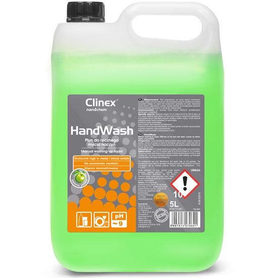 Koncetrat płyn do ręcznego mycia naczyń bez smug i zacieków CLINEX HandWash 5L