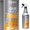 Skuteczny środek do mycia grilla rożna piekarnika wędzarni CLINEX Grill 1L