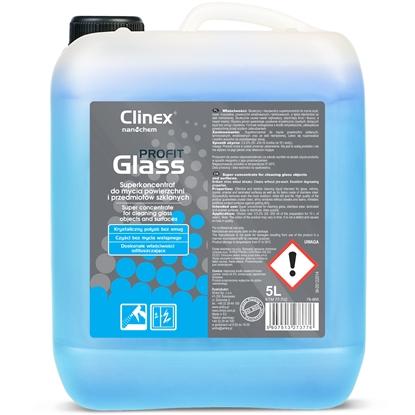 Skuteczny koncentrat do mycia szyb luster szkła stali nierdzewnej CLINEX PROFIT Glass 5L