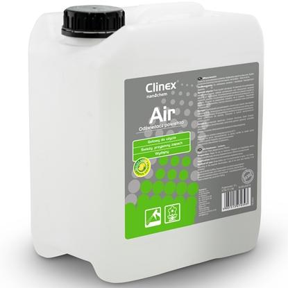 Skuteczny odświeżacz powietrza rozpylany na powierzchnie CLINEX Air - Lemon Soda 5L