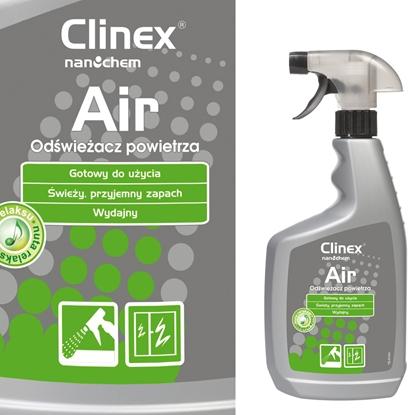 Skuteczny odświeżacz powietrza rozpylany na powierzchnie CLINEX Air - Nuta Relaksu 650ML