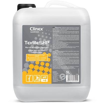 Płyn do prania czyszczenia dywanów mebli i tapicerki CLINEX Textile SHP 5L