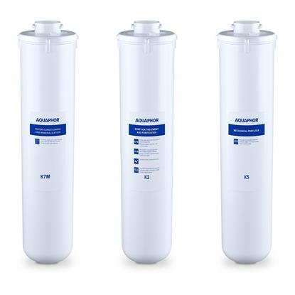 Wkład filtrujący wymienny K2 K5 K7M - zestaw 3 szt.