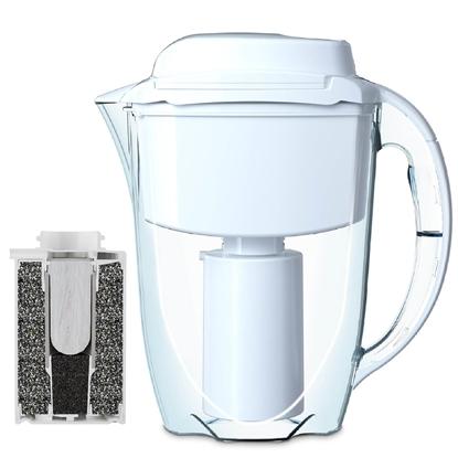 Dzbanek filtrujący do uzdatniania wody 2.8 l J. SHMIDT 500