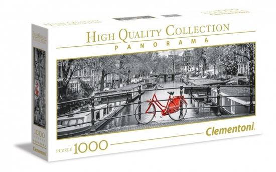 1000 elementów Panorama High Quality Amsterdamski rower (GXP-629965)