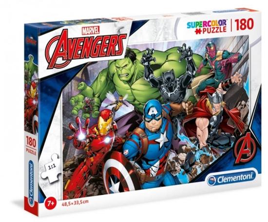 Puzzle 180 elementów Avengers (GXP-769075)