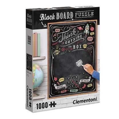 1000 elementów Black Board Think outside the box (GXP-629982)