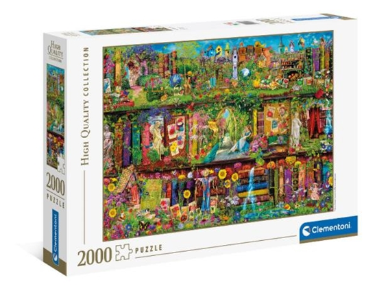 Clementoni Puzzle 2000el Ogrodowa półka. The garden shelf 32567 (32567 CLEMENTONI)