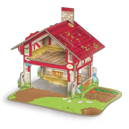 Papo 33108 Mini Farma -sceneria 33x24x4cm