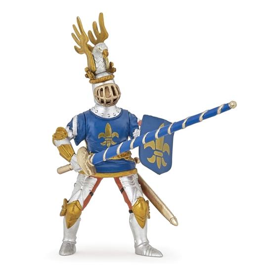 Papo 39788 Rycerz niebieski w lilie 9,5x4x11,4 cm