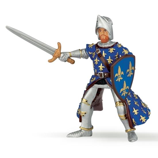 Papo 39253 Niebieski książę Filip  9x7,3x9,1cm