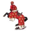 Papo 39257 Koń czerwonego księcia Filipa  13,5x5,8x8,2cm