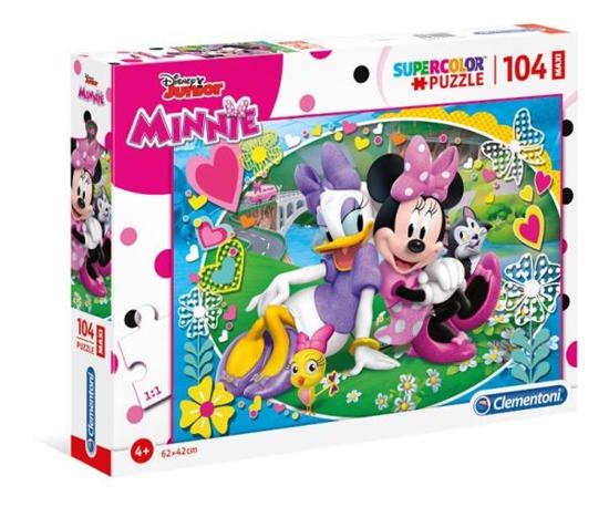 Clementoni Puzzle 104el Maxi Minnie 23708 (23708 CLEMENTONI)