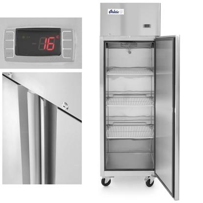 Szafa mroźnicza zamrażarka gastronomiczna 1-drzwiowa Profi Line 410L - Hendi 233115