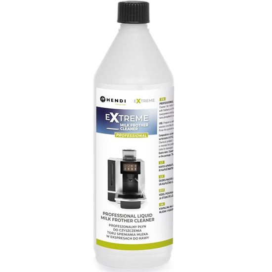 Płyn do czyszczenia instalacji spieniania mleka w ekspresach do kawy 1L - Hendi 231296