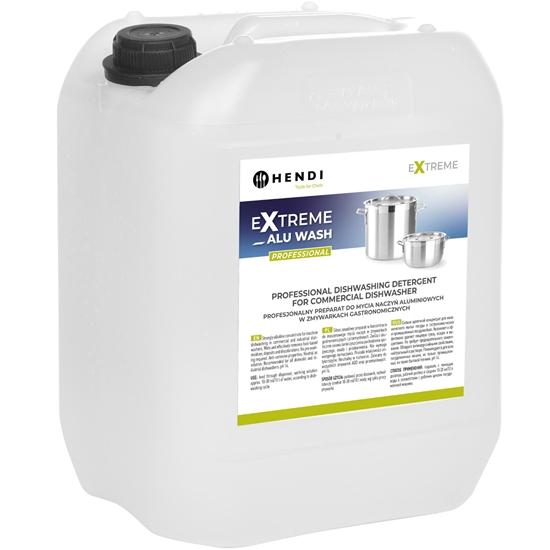 Płyn preparat do mycia naczyń aluminiowych w zmywarkach gastronomicznych 20L - Hendi 699317