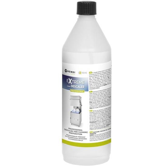 Płyn preparat odkamieniacz do odkamieniania zmywarek gastronomicznych 1L  - Hendi 975008