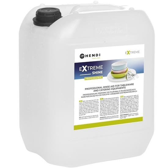Płyn nabłyszczacz do płukania i nabłyszczania naczyń w zmywarkach gastronomicznych 10L - Hendi 975015