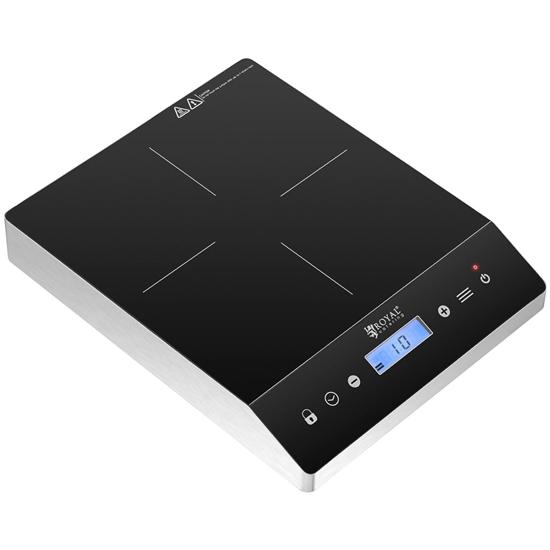 Kuchenka płyta indukcyjna przenośna 1 pole grzewcze śr. 26 cm LCD 3500 W