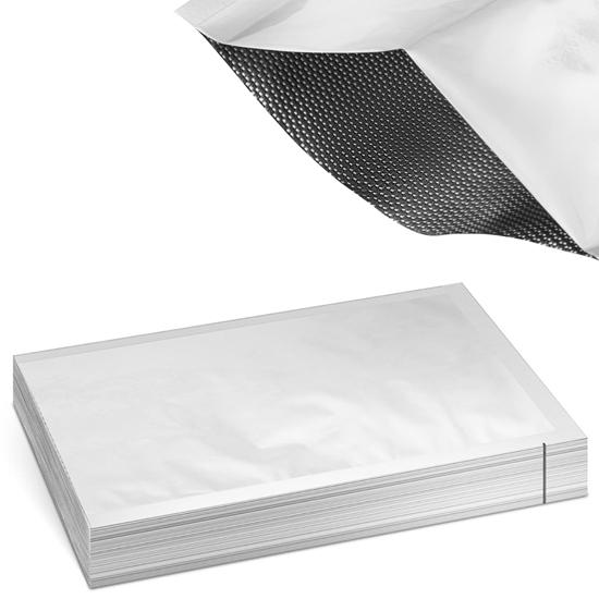 Worki moletowane metalizowane z aluminium do pakowarek próżniowych 200 x 300 mm 100 szt.