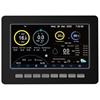 Bezprzewodowa stacja meteorologiczna pogodowa solarna 7w1 LCD WiFi 100m