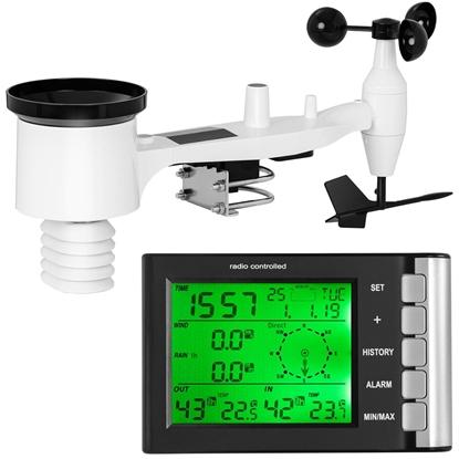 Bezprzewodowa stacja meteorologiczna pogodowa 9 zjawisk LCD 100m