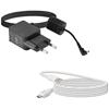 Bezprzewodowa stacja pogodowa 5 czujników microSD USB