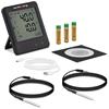 Rejestrator temperatury termometr zakres -40 do 125C Mikro USB LCD IP54