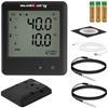 Rejestrator temperatury termometr zakres -200 do 250C Mikro USB LCD IP54