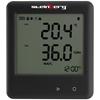 Termohigrometr rejestrator temperatury i wilgotności zakres -30 do 60C Mikro USB LCD IP54