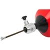 Przepychacz żmijka spirala elektryczna bębnowa do udrażniania rur 750 W dł. 7.6 m śr. 20-65 mm