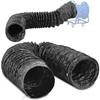 Rura wąż odciągowy do wentylatora dmuchawy przemysłowej śr. 400 mm dł. 5 m