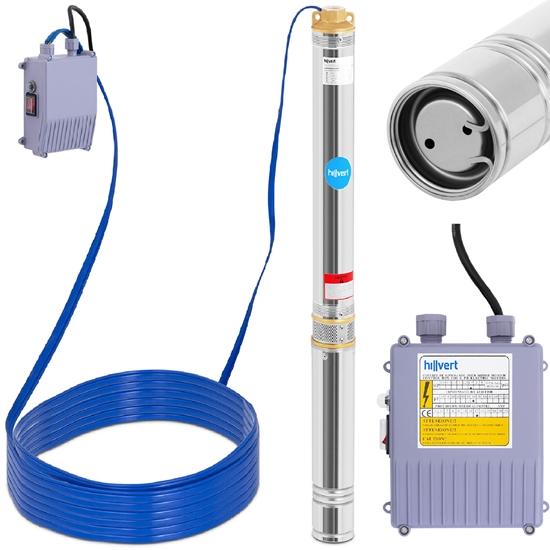 Pompa głębinowa do studni głębinowej ze stali nierdzewnej 6000 l/godz. do 101 m