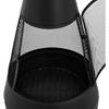 Ogrzewacz palenisko kominek na taras do ogrodu stalowy 360 wys. 120 cm