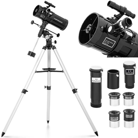 Teleskop astronomiczny Newtona Uniprodo 1000 mm śr. 114 mm