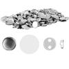 Przypinki badziki buttony piny do ubrań 1000 szt. śr. 25 mm