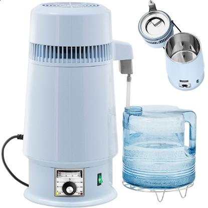 Destylator destylarka do wody z regulacją temperatury + plastikowy dzbanek 4 l